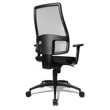 Otočná kancelářská židle Topstar® Syncro se síťovým opěradlem