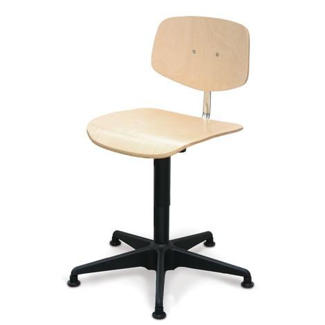 Otočná stolička Uno buk