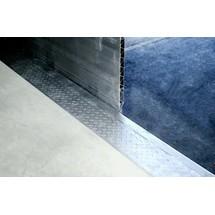 Overbelastningsbro eftermonteringssæt til rampekanter uden stål kant