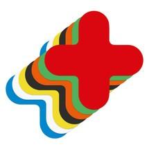 Oznakowania podłogowe, w kształcie X