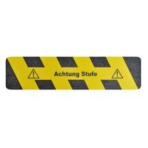 """Oznakowanie antypoślizgowe m2-Antirutschbelag™ """"Achtung Stufe (Uwaga, stopień)"""""""