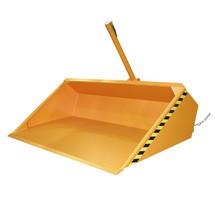 pá a hidráulica para empilhador, pintada, volume 1,2 m³