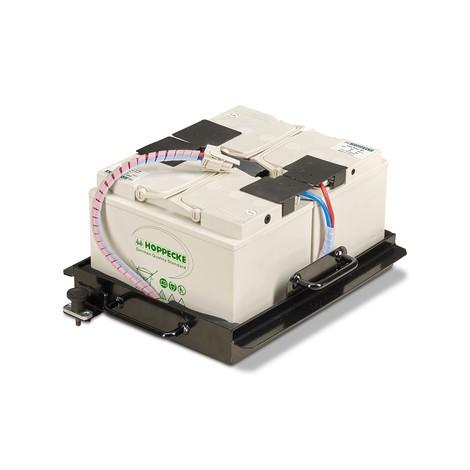 Pacchetto di 2x batterie sostitutive da 12V/60Ah per spazio di lavoro mobile Jungheinrich