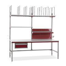 Packplatz-Komplettset System Flex Basic + , BxTxH: 2000x800x690-960mm