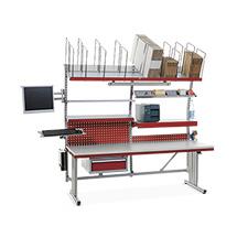 Packplatz-Komplettset System Flex Premium, BxTxH: 2000x800x690-960mm