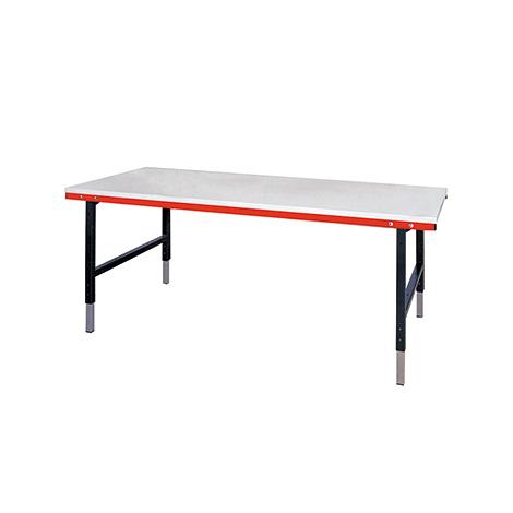 Packtisch und Arbeitstisch mit oder ohne Waage. HxBxT 690-960x2000x920 mm