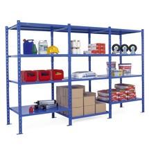 Pacote completo de estante para picking, azul celeste
