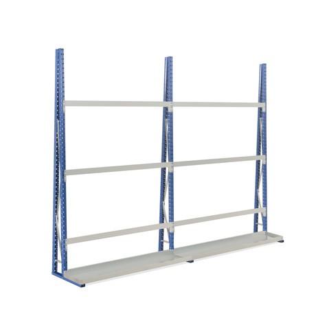 Pacote completo de estanteria vertical, unilateral