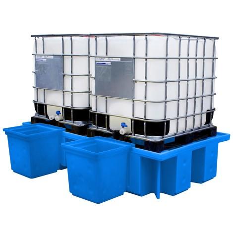 Påfyldningsfastgøring container til IBC station lavet af PE