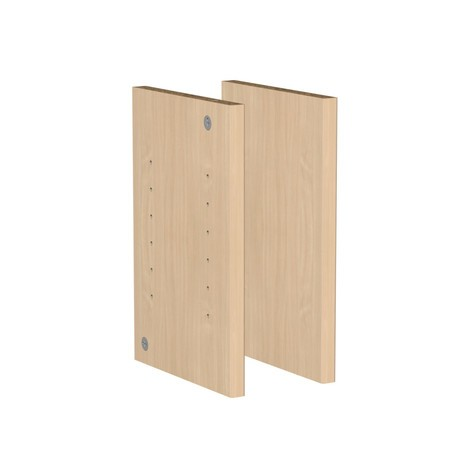 Páginas de compartimento para estantes para sistema de mostrador