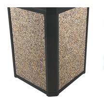 Painel lateral para caixote de lixo marco™