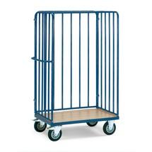 Paketwagen fetra®, mit 3 Streben-Wänden