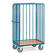 Paketwagen fetra® mit 3 Streben-Wänden. Höhe bis 1,80m, Tragkraft 500kg