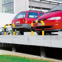 Påkørselsskærm-bøjle til udendørs brug, diameter 76 mm