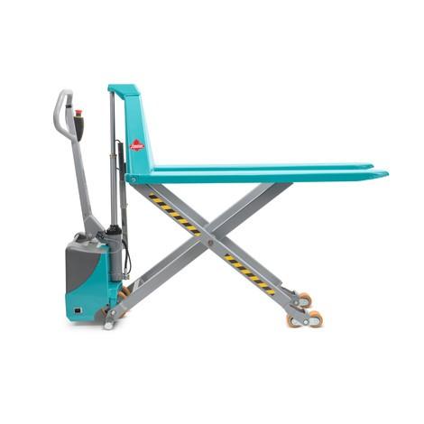 Paletový vozík Ameise® snůžkovým mechanismem - elektrohydraulický, nosnost až 1500kg