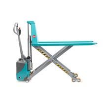 Paletový vozík snůžkovým mechanismem Ameise® PTM 1.0/1.5, elektrohydraulický, různé délky vidlí