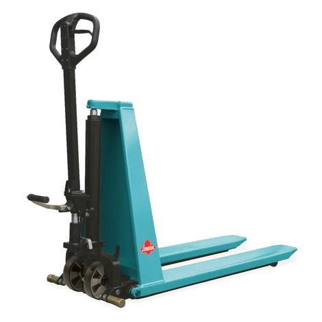 Paletový vozík snůžkovým mechanismem Ameise® PTM 1.0 srychlým zdvihem