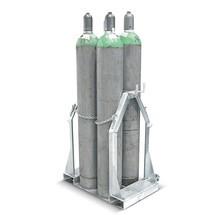 Palette à bouteilles de gaz