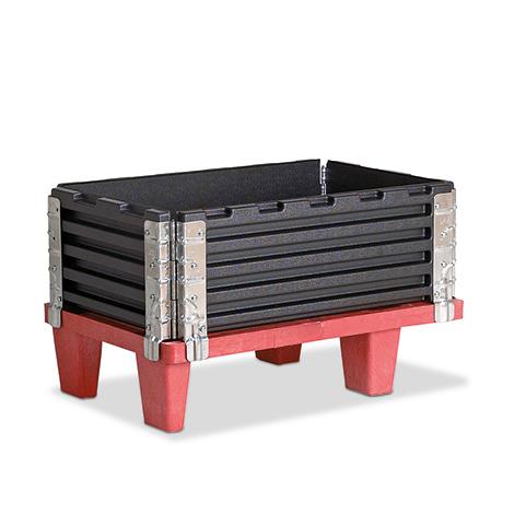 Paletten-Aufsatzrahmen, LxB 400x600 mm