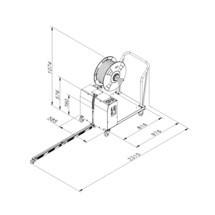 Paletten-Umreifungsmaschine TP-502 MV