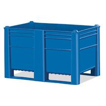 Palettenbox Blue. Inhalt 500 oder 600 Liter