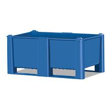 Palettenbox Blue Standard. Inhalt 320 oder 410 Liter