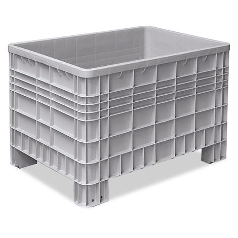 Palettenbox mit 4 Füßen. Maß 1200 x 800 x 800 mm (LxBxH)
