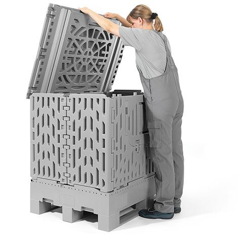 Palettenbox Poly-Hi-Pac faltbar