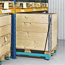 Palettenfahrgestell Ameise®. Lackiert, schmalseitig offen, Tragkraft 1000 kg