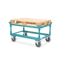 Palletonderwagen Ameise®, met vanghoeken, laadhoogte 650 mm