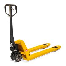 Palletwagen Ameise ® met snelhef. Capaciteit 2500 kg, geel