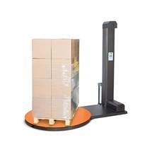 Palletwikkelaar PS NOBEL, draaitafel 1500mm, wikkelhoogte 2100 mm
