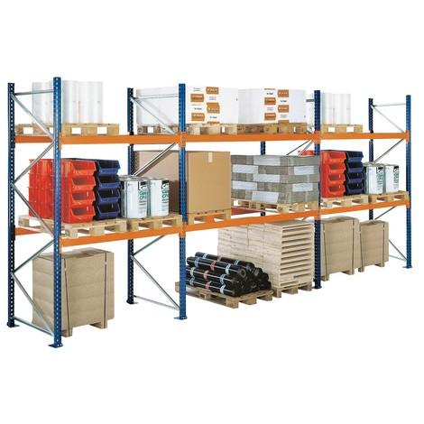 Pallställ SCHULTE, typ S, påbyggnadssektion lastgods upp till 12,040 kg