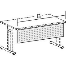 Panel de visualización para muebles de oficina serie Lisboa
