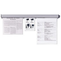 Papierklemrails FRANKEN voor magneetborden