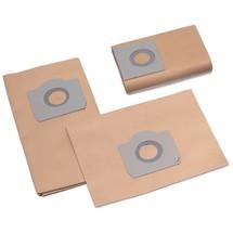 Papir-filterpose til Steinbock® INOX, 50 liter, støvklasse H