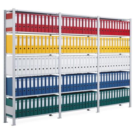Paquete completo de estantería para archivo SCHULTE, de un lado