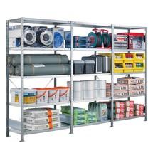 Paquete completo estantería de cargas pequeñas estante SCHULTE, carga por estante 330 kg