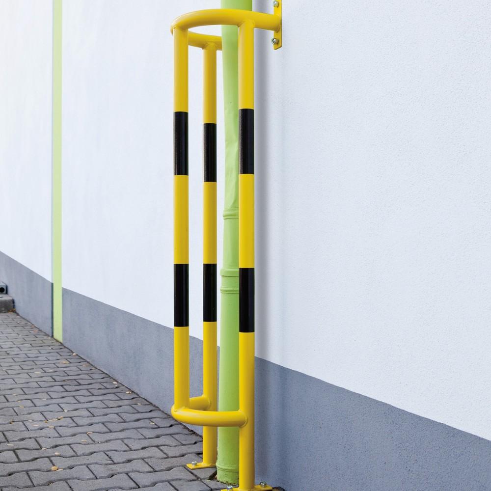 Parachoques para tubos, aplicación exterior