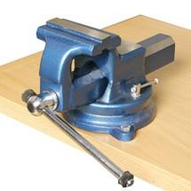 Parallel-skruestik, kan drejes og låses