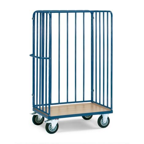 parcelový vozík fetra®, se 3 stěnami vzpěry