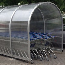 Parkbox wanzl für Einkaufswagen