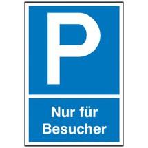 """Parkeerbord """"Alleen voor bezoekers"""""""