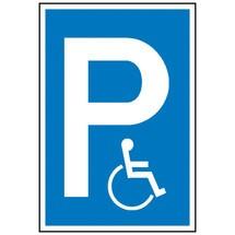 Parkeerbord parkeerplaats voor gehandicapten