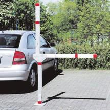 Parkeerplaatsblokkering