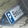 """Parkplatz-Reservierungsschild """"Text"""""""