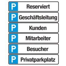 Parkplatzschild 'Privatparkplatz'