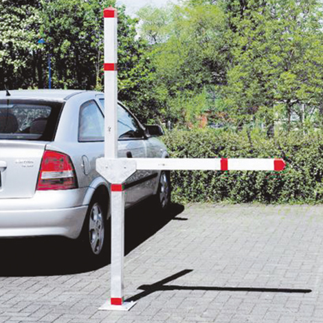 Parkplatzsperre, ein- oder doppelarmig