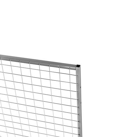 Påsättningselement Standard för skiljeväggsystem TROAX®