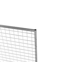 Påsatselementet Standard til skillevægsystemet TROAX®